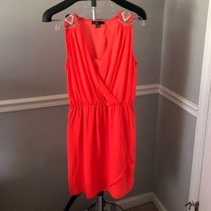Wrap front style dress Sz S